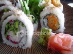 sushi-with-ginger